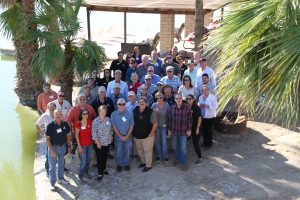 Members of the San Diego County Water Authority Board of Directors and staff are pictured with members of the Imperial Valley farming community at local farmer Craig Elmore's Desert Sky Farm, one of the stops on the Water Authority's Imperial Valley tour Thusday, Nov. 3.